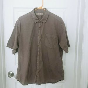 Tommy Bahama Mens Large Collared Button Down Shirt